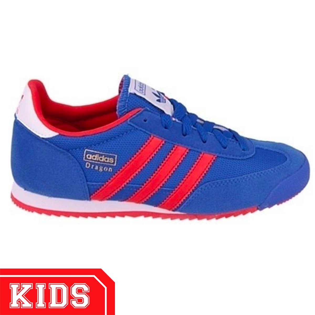 adidas dragon blauw heren