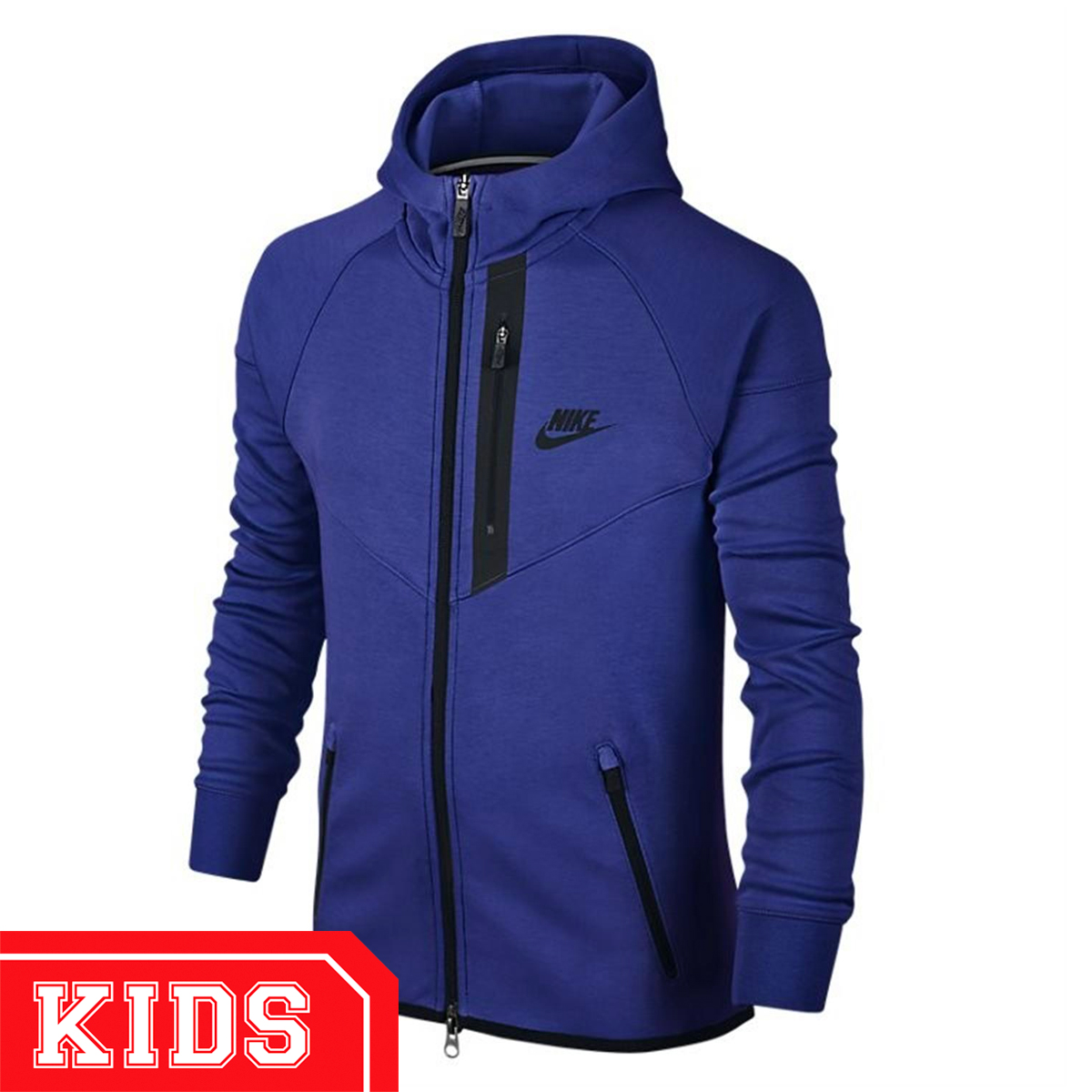 aba4b8be24a3 Nike 728205 (KIDS) TECH FLEECE WINDRUNNER JUNIOR