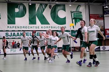 PKC naar zaalkorfbalfinale in Ziggo Dome tegen Fortuna
