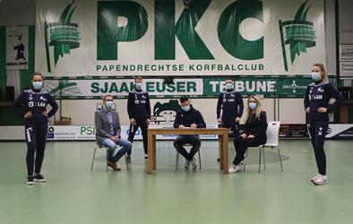 PKC/Vertom verlengt sponsorcontract Sportcentrum Dordrecht