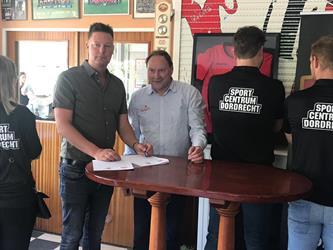 Samenwerking Sportcentrum Dordrecht en voetbalvereniging E.B.O.H.